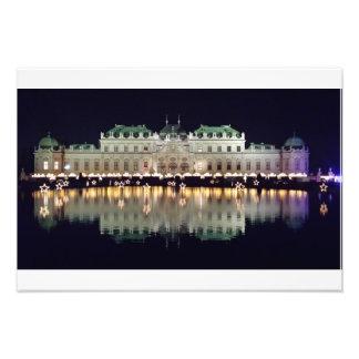 Foto Belvedere bonito de Viena em dezembro