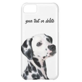 Foto bonita do cão Dalmatian, presente Capa Para iPhone 5C