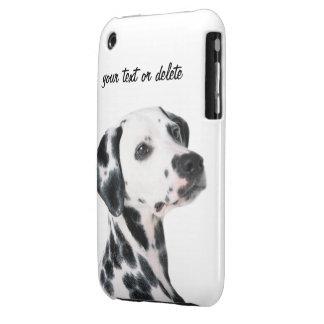 Foto bonita do cão Dalmatian, presente Capas Para iPhone 3 Case-Mate