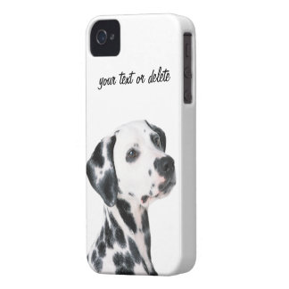 Foto bonita do cão Dalmatian, presente Capas Para iPhone 4 Case-Mate