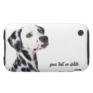 Foto bonita do cão Dalmatian, presente Capinhas Para iPhone 3 Tough