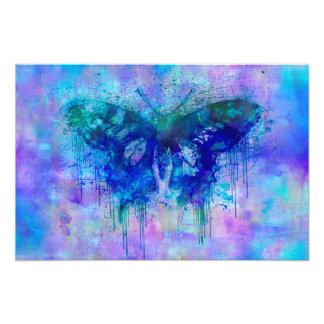Foto Borboleta louca azul