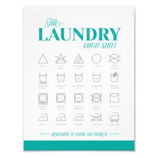 Foto Cábula da lavandaria