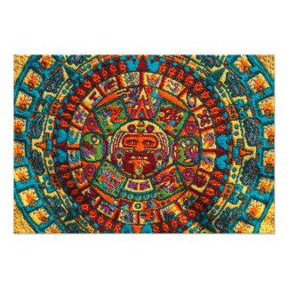 Foto Calendário maia colorido