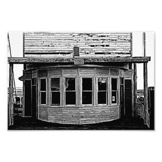 Foto Câmara municipal da cidade fantasma de Shaniko