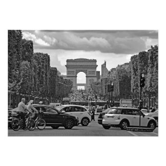 Foto Campeões Elysees. Vista do Arch. triunfal