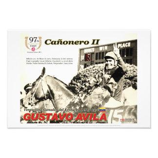 Foto Cañonero II, Gustavo poster de Avila, Kentucky