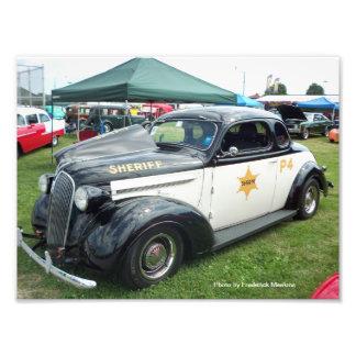 Foto Carro de polícia velho