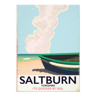 Foto Cartaz das viagens vintage de Saltburn - de
