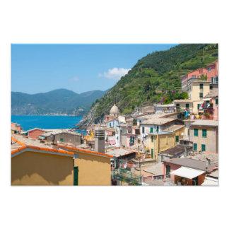 Foto Casas coloridas em Cinque Terre Italia