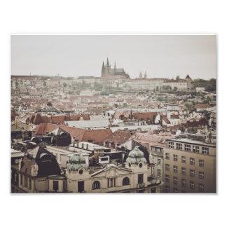 Foto Castelo de Praga na cidade da república checa de