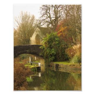 Foto Cena bonita do canal de Oxford, Shipton em