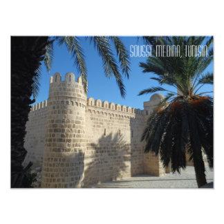 Foto Cena histórica Tunísia da rua de Sousse Medina