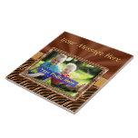 Foto cerâmica personalizada Trivet com SUA FOTO Azulejo