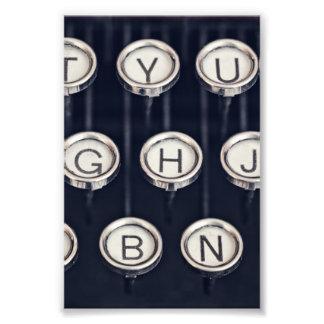 Foto Chaves da máquina de escrever do vintage