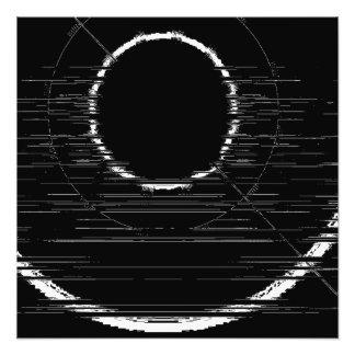 Foto círculo branco