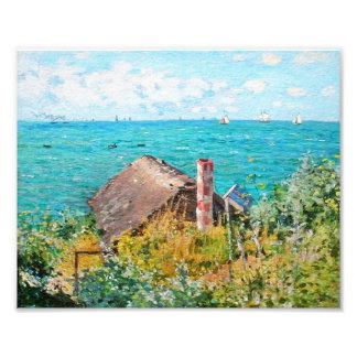 Foto Claude Monet a cabine em belas artes do
