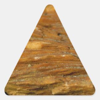 Foto com crista de barite adesivos triângulo