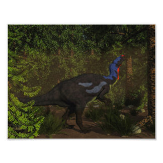 Foto Comer do dinossauro do Camptosaurus - 3D rendem