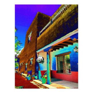 Foto Construção de Adobe, centro cívico de Santa Fé