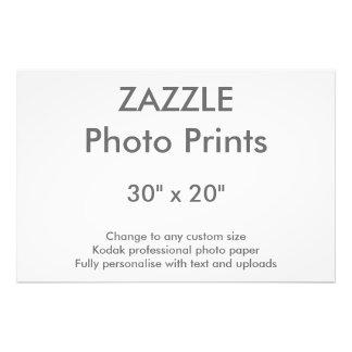 """Foto Costume 30"""" de Zazzle x 20"""" impressão 76 x 51 cm"""