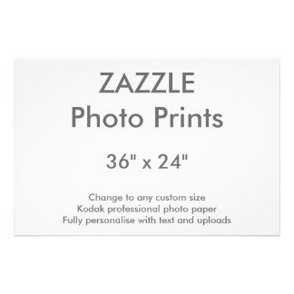 """Foto Costume 36"""" de Zazzle x 24"""" impressão 91 x 61 cm"""