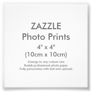 """Foto Costume 4"""" de Zazzle x 4"""" modelo do impressão da"""