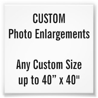 """Foto Costume 4"""" x 4"""" ampliação da foto, até 40"""" x 40"""""""