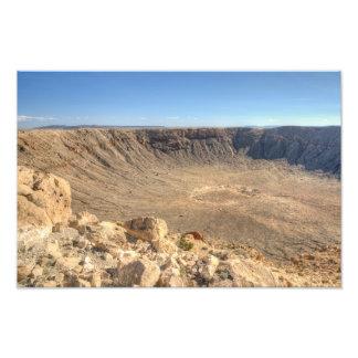 Foto Cratera do meteoro da arizona