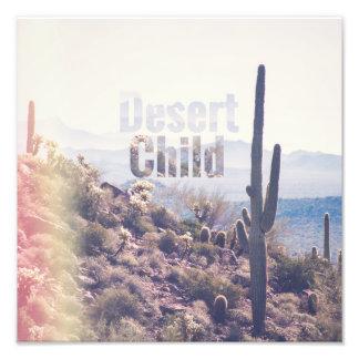 Foto Criança do deserto - região selvagem da