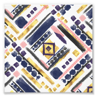Foto Cursos geométricos da escova da pintura tribal do
