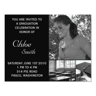 Foto customizável barata dos convites da graduação