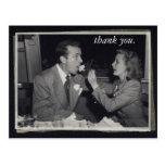 Foto customizável dos cartões de agradecimentos do cartao postal