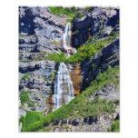 Foto da cachoeira #1a- Framable de Utá Impressão De Foto