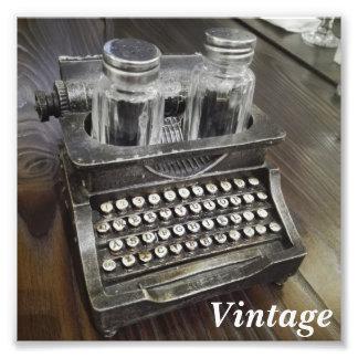 Foto da cremalheira dos condimentos do vintage