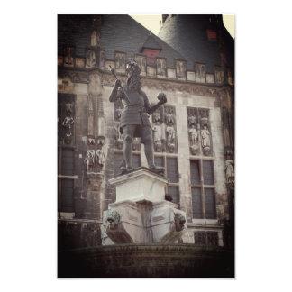 Foto da estátua de Charlemagne