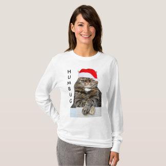 Foto da farsa do gato do Natal com a camisa do