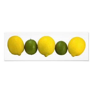Foto da fileira do citrino