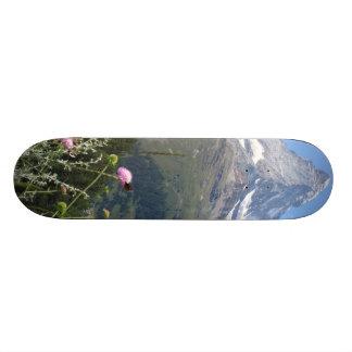 Foto da montanha de Matterhorn Shape De Skate 18,1cm