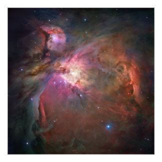 Foto da nebulosa de Orion