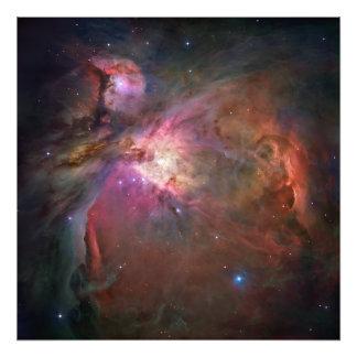 Foto da nebulosa de Orion Impressão De Foto