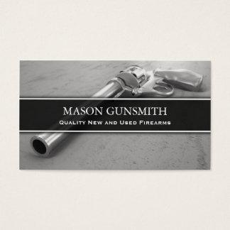 Foto da pistola - Gunsmith - cartão de visita