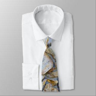 Foto da textura da parede da rocha no laço 3 gravata