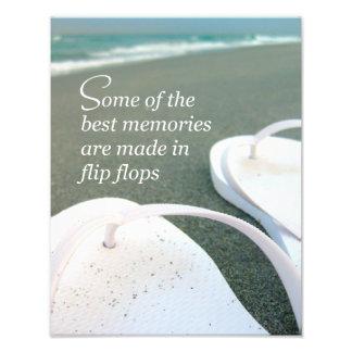 Foto das citações da praia dos chinelos