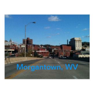 Foto de cartão da skyline de Morgantown WV