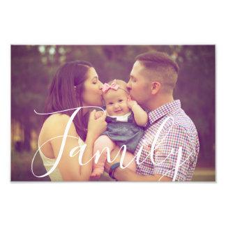 Foto de família 12x8 com opção editável do texto