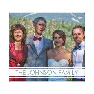 Foto de família impressão em tela canvas
