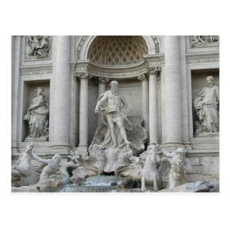 Foto de Fontana di Trevi Roma da fonte do Trevi Cartão Postal