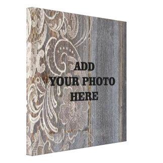 foto de madeira do casamento do país ocidental do