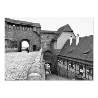 Foto Dentro da fortaleza de Nuremberg
